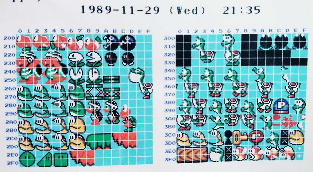 Original Super Mario World Sprites Reveal an Early Version of Yoshi