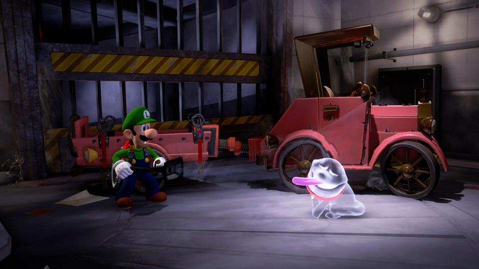 Nintendo Switchで『ルイージマ...
