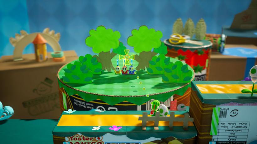クラフトの世界をゆけ!ヨッシー!nintendo Switch『ヨッシークラフトワールド』が2019年春発売