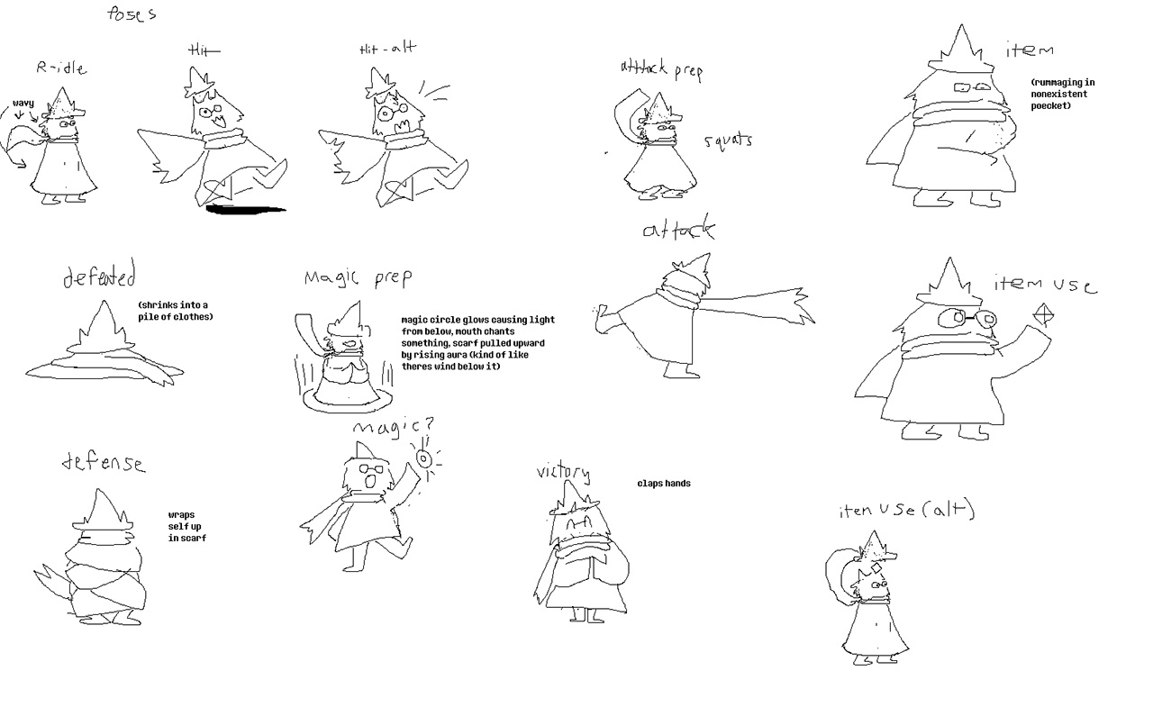 What is Ralsei made of exactly? (toby concept art - full picture in  comment) : Deltarune